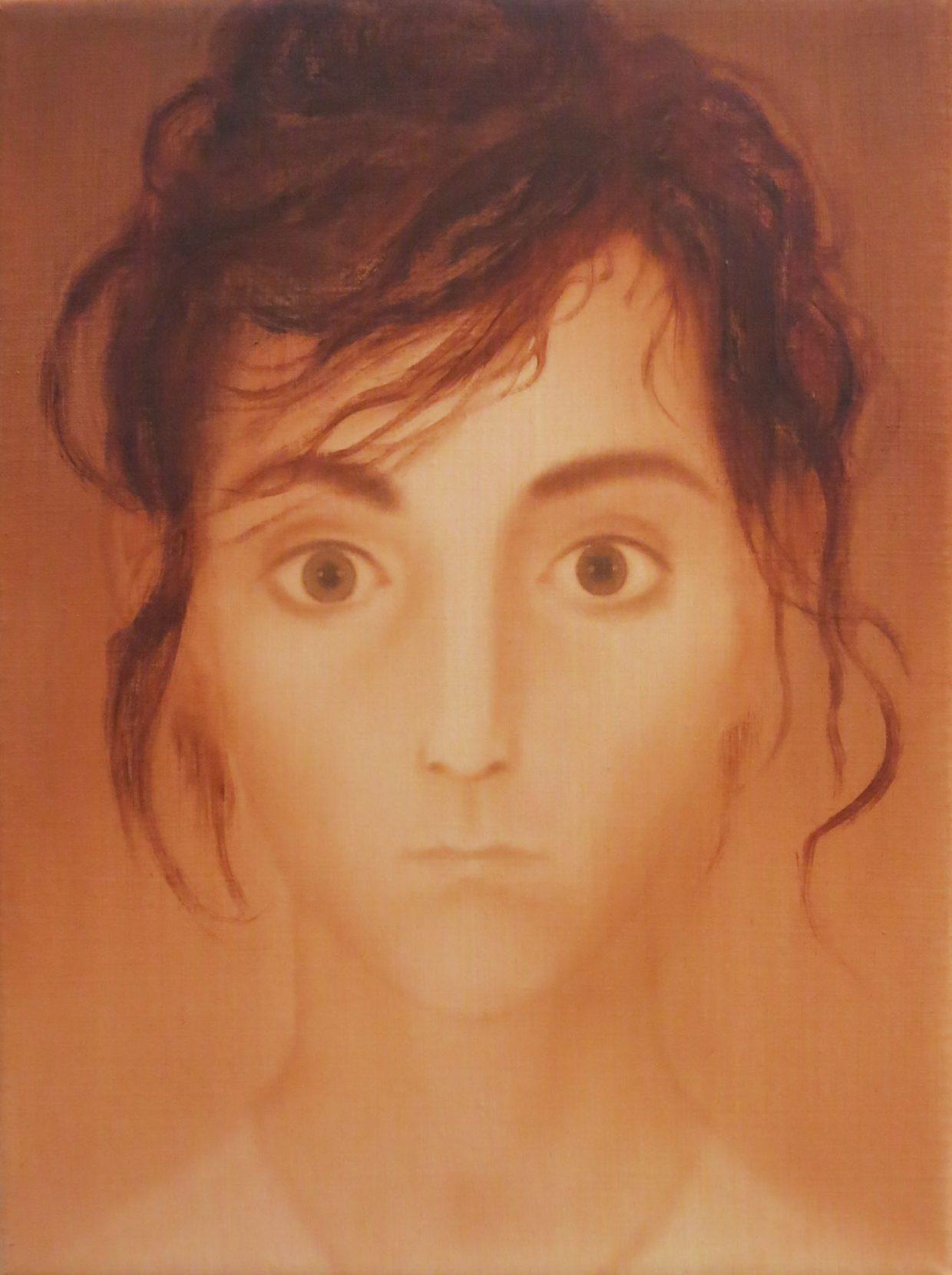 Malgorzata Neubart, Julia, Öl auf Lw., 24 x 18 cm, 2015