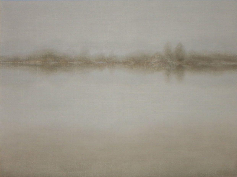Malgorzata Neubart, o.T., Öl auf Holz, 60 x 80 cm, 2015