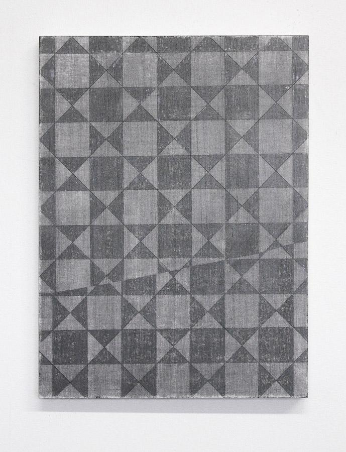 oT, Graphit, Papier, Holz, 30 x 40 cm, 2015