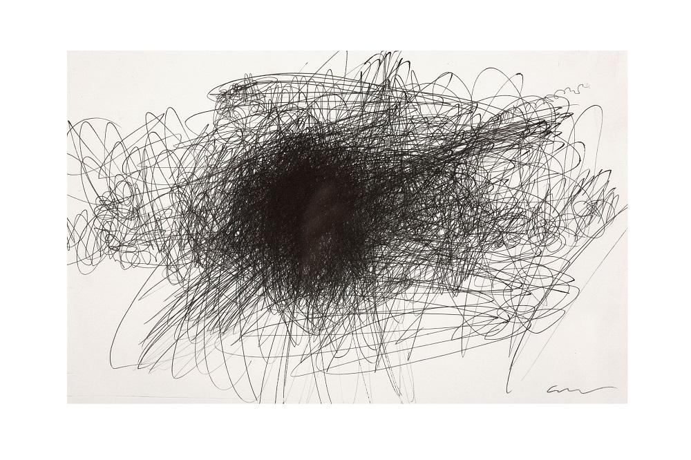 o.T., Kugelschreiber auf Papier, 20 x 30 cm, 2010